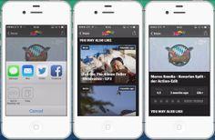 La dimension virale | L'application n'est pas reliée aux réseaux sociaux de la marque. Cependant, l'utilisateur peut facilement partager les vidéos sur Twitter ou Facebook et par sms ou mail. L'utilisateur est incité à noter les vidéos afin d'établir un classement (Top Rate), ou pour lui pousser d'autres contenus (You may also like) renforçant l'interaction avec la marque. L'application propose de regarder des événements (compétitions, show etc.) en direct et les différentes séries de la…