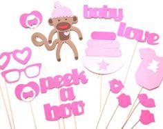 Apoyos de la foto de bebé ducha Props  Baby Girl Foto