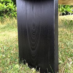 Ebonized Ash - This is a simple application of India Ink. Woodworking For Dummies, Woodworking Store, Woodworking Workbench, Woodworking Workshop, Fine Woodworking, Workbench Plans, Woodworking Classes, Rocking Chair Plans, Wooden Rocking Chairs