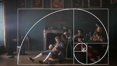 """A still from the Stanley Kubrick film """"Barry Lyndon"""" (1975) Fibonacci Composition - Also known as the Golden Mean, Phi, or Divine Proportion, this law was made famous by Leonardo Fibonacci around 1200 A.D. He noticed that there was an absolute ratio that appears often throughout nature, a sort of design that is universally efficient in living things and pleasing to the human eye."""