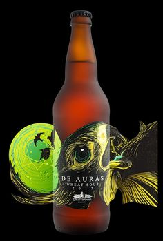 De Auras Wheat Sour on Packaging of the World - Creative Package Design Gallery