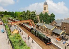 The Victoria Road model will travel from Bradford to be at the Southwold Model Railway Exhibition. Photo (C) Hornby Magazine