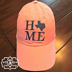 Home Texas Monogram Baseball Hats
