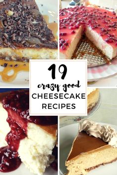 Calling all cheesecake lovers!  There are traditional cheesecake recipes, and then there are THESE cheesecake recipes. They are ridiculously amazing/mouth-watering/crave-worthy cheesecake recipes you need to check out now!