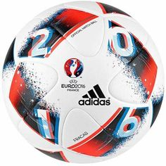 adidas Euro 16 OMB Official Match Ball White Red 99950d41f72cf