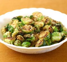 Roasted Brussels Sprouts with Breadcrumbs and True Lemon