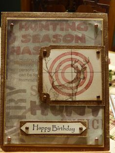 Front of Blaine's Birthday card!