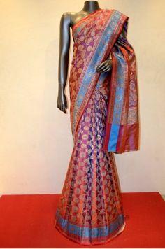 Exquisite Designer Heavy Banarasi Wedding Silk Saree Product Code: SSJG01809 Price: ₹11,350 #Wedding #Kanchipuram #Kanjivaram #Kanjeevaram #Designersarees #Ethnicwear #Exclusivedesign #India # Saree fashion #Sari #Beautiful Saree #wedding #bridalwear #indianwedding #designer #bridal #desi #indianfashion #partywear #ethnic #sarees #onlineshopping Sarees #indianbride #indianwear #Saree love #uk #usa # canada #traditional #gorgeous #bride #elegant