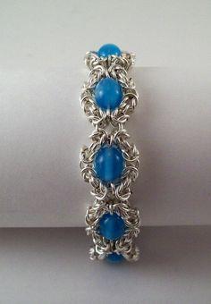 chainmaille bracelet romanov