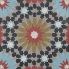 Moroccan Encaustic Cement Pattern 23c | £ 2.80 | Moroccan Encaustic Cement Pattern Tiles | Best Tile UK | Moroccan Tiles | Cement Tiles | Encaustic Tiles | Metro Subway Tiles | Terracotta Tiles | Victorian Tiles
