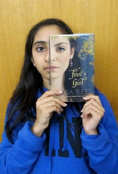 Teens + Book Covers = awesome book face!