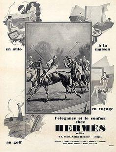 Hermès (Leather Goods) 1927. L O V E . Want framed for my condo!