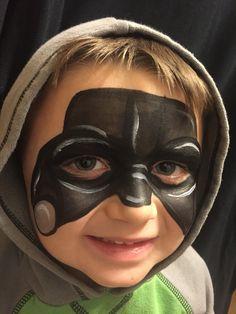 Little Darth Vader. #facepaint #wichita #justfaceitfacepainting #starwars