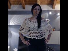 MANTELLINA ELEGANTISSIMA ALL'UNCINETTO 1 di 2 - YouTube
