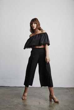 Vetta Capsule SS16 The Culottes & Top from The Two Piece Dress #vettacapsule #ss16 #style #fashion #travel #ootd #capsulewardrobe www.vettacapsule.com