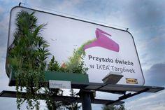 ikea voiture banc ambient marketing pologne Targowek mrufka 6