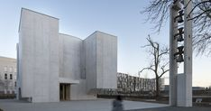 Alvaro Siza's New Church of Saint-Jacques de la Lande Through the Lens of Ana Amado