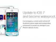Un Falso Anuncio de iOS 7 Ha Hecho que Muchos Metan en Agua su iPhone