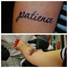 Characteristic- Patience