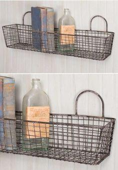 Wall Basket, Bakery Basket, Wire Basket