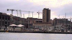 Marina S.Giusto vista dalla Stazione Marittima -Trieste