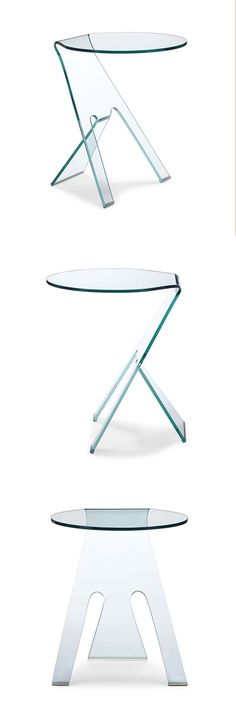Simple yet chic, this clear side table provides an airy feel to corners or next to a sofa. Composed out of one large piece of tempered glass, objects placed on the table will appear to float for an int...  Find the Clarity Side Table, as seen in the Free Shipping Day: Furniture Collection at http://dotandbo.com/collections/free-shipping-day-furniture?utm_source=pinterest&utm_medium=organic&db_sku=ZUO0008
