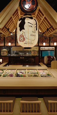 Restaurant Exterior Design, Japanese Restaurant Interior, Tokyo Restaurant, Japanese Interior, Sushi Store, Sushi Bar Design, Bakery Shop Interior, Yukata, Japanese Taste