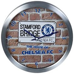 chelsea wall clock Chelsea London Official Merchandise Available at www.itsmatchday.com