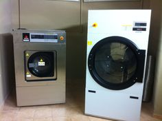 FAGOR laundry machines at hotel AEOLIS in Thassos. Washing Machine, Laundry, Home Appliances, Laundry Room, House Appliances, Appliances, Laundry Rooms