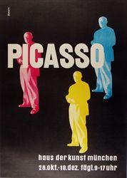 Massin  Picasso Exhibition  c. 1980