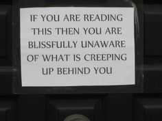 THIS IS AMAZING! I am so putting this on our front door muhahahaha
