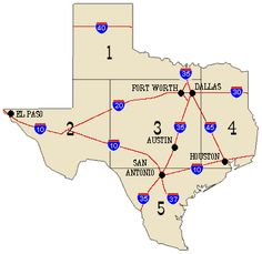 Unforgettable Road Trips To Take In Texas Before You Die - Texas towns map