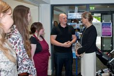 It isn't everyday that the Royal family comes to see you :) Sophie Countess of Wessex @ThrelkeldCoffee