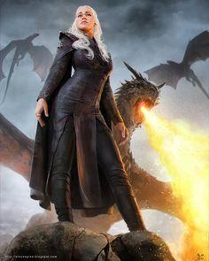 Game of Thrones Daenerys Targaryen Westeros Queen - by alexnegrea ° ° ° #daenerystargaryen #daenerys #daenerysstormborn #mysha