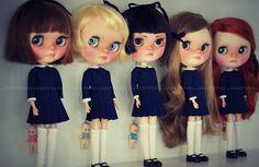 A Doll A Day. Dec 2. Pretties in a Row.