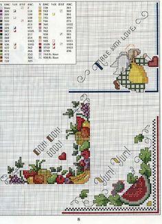 Patrones punto de cruz (solo country) | Aprender manualidades es facilisimo.com