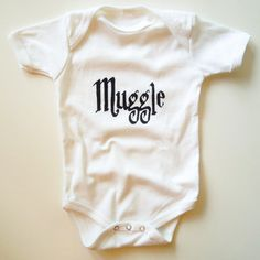 Muggle Onesie now featured on Fab... Jenny... Courtney... I know you guys would love this :)