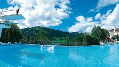 Gstaad Palace outdoor pool - can't wait for summer!!!