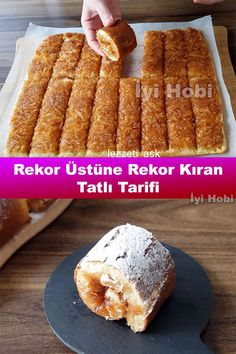 Turkish Recipes, Italian Recipes, Turkish Sweets, Breakfast Recipes, Dessert Recipes, Turkish Breakfast, Biscuits, Fish And Meat, Prune