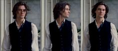 Ben Barnes - Dorian Gray (I love this scene because the wind does beautiful things with his hair)