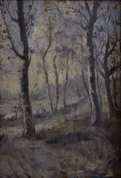 Forest Edge - Andreescu Subic, Marianne, Paintings, Landscaping, Czech Republic, Slovenia, Impressionism, Hungary, Poland