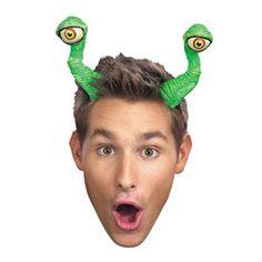 Disguise Costumes Eye Tentacles Adult for sale online Halloween Hats, Halloween Costume Accessories, Adult Halloween, Funny Halloween Costumes, Halloween 2015, Halloween Ideas, Space Party Costumes, Alien Hat, Costume Craze