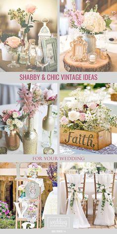 Shabby chic vintage wedding decor ideas chic cute weddings found shabby chic decor near me superb junglespirit Images