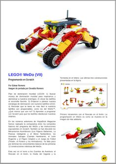 wedobots: LEGO® WeDo designs for the busy teacher