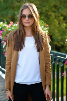 The camel coat on www.leafsofstyle.com
