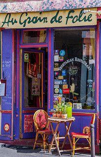 Very Small Restaurant in Montmartre   by Bob Radlinski