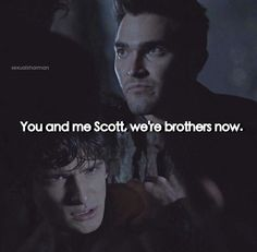 Teen wolf - Derek Hale and Scott McCall
