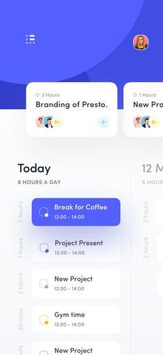 Task Management App UI – Design is art Mobile App Design, Mobile App Ui, Design Web, App Ui Design, Site Design, Flat Design, Design Thinking, Motion Design, Budget Planner App
