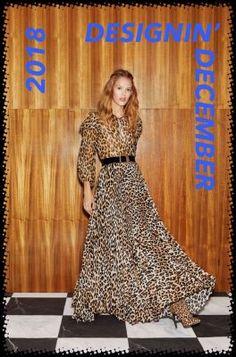 The complete Alice + Olivia Resort 2019 fashion show now on Vogue Runway. Women's Summer Fashion, Fashion Week, New York Fashion, Love Fashion, Runway Fashion, Fashion Looks, Fashion Tips, Animal Print Outfits, Animal Print Fashion