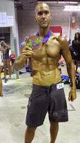 Team Flexr6 Competitor Justin Donnelly - 3rd place Men's Physique & 3rd place Men's Fitness at 2014 INBA Tropix A!!